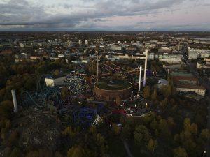 Marjut Uusmäe, kuvia Helsingistä, Linnanmäki