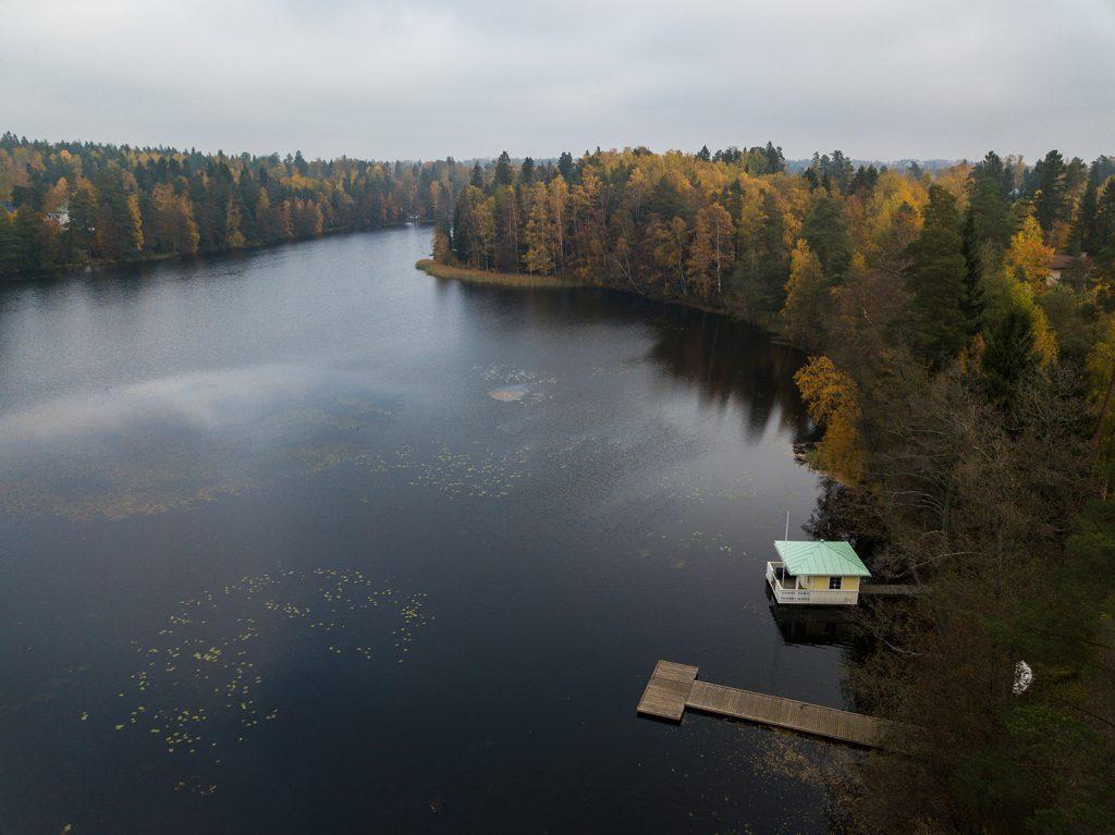 Gallträsk-järvi Kauniaisissa